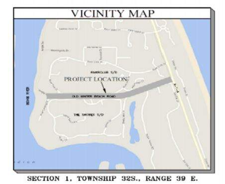Old Winter Beach Road Project Vicinity Map