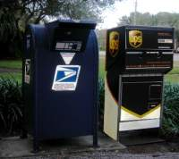 US Postal Service & UPS Drop boxes
