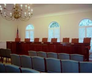 Indian River Shores Council Chambers Interior